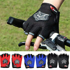 Sports Cycle Motorcycle Mountain Bicycle Bike Gel Fingerless Half Finger Gloves