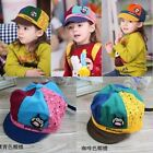Infant Baby Girls Toddler  Cotton  Baseball Peaked Beret Beanie Hats Sun Caps