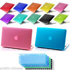 "Slim Rigid Crystal Case For Apple Macbook Pro Retina 13"" 15"" 11"" Air+ Free Cover"