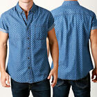 Mens New season SWAGGER Button Shirt All over print Printed short sleeve STYLE