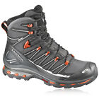 Salomon Cosmic 4D 2 Mens Black Gore-Tex Waterproof Walking Hiking Boots Shoes