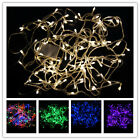 10M 100 LED Waterproof  Fairy Colorful String Garden Home Party Light