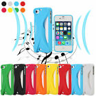 For Apple iPhone4/4S/5/5S TPU Case Loud Speaker Sound Amplifier Soft Case Cover