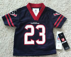 NWT ARIAN FOSTER HOUSTON TEXANS KIDS TODDLER FOOTBALL JERSEY #23 NFL APPAREL