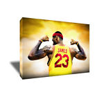 Cleveland Cavaliers LEBRON JAMES Poster Photo Painting on Canvas Wall Art Print on eBay