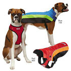 KONG Dog Coat Detachable Harness Ripstop Mesh Fleece Lined 8 Sizes Red or Blue
