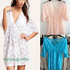 Women Sexy Hollow Lace Blouse Swimwear Bathing Bikini Cover Up Beach Shirt Dress