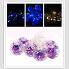1.5m 6 Big Ball LED String Fairy Xmas Light Party Wedding Crystal Ball Effect