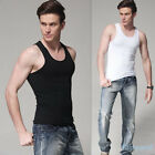 Mens Boys Tank Top Vest T-shirts Sports Sleeveless Training Jogging Undershirts