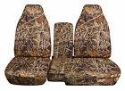 CC 91-97 FORD RANGER TREE CAMO CAR SEAT COVERS 60-40 seat+CONSOLE COVER,CHOOSE