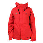 VOLCOM Womens 2014 Snowboard Snow Scarlet SHORE INSULATED JACKET