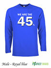 We are the 45 % Scotland Scottish Independence Yes  Long Sleeve T-Shirts  R Blue