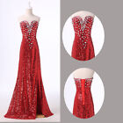 FREE SHIP❤ Stunning LONG Evening Formal Party Cocktail Dresses Wedding Gowns NEW