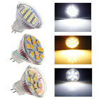 MR11 LED Spotlight Pure/Warm White 9/12/24 SMD Bulb Lamp AC/DC 12V (1/10pcs) NEW