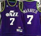 PISTOL PETE MARAVICH UTAH JAZZ HARDWOOD CLASSICS THROWBACK JERSEY SWINGMAN NEW