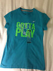 NIKE GIRLS GOTTA PLAY S M L XL TEAL ($18)