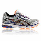ASICS Mens GT-1000 v2 Grey Support Running Sports Trainers Pumps Shoes D Width