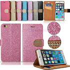 Multi-Function Crystal Bling Glitter Stand Case Cover for iPhone 6 Plus 5.5'' UK