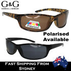 G&G Mens Sunglasses Sport Wrap Around Flat Top Polairsed Lens Available