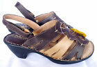 Ladies Quality Comfort Leather Sandals Brown/Tan sizes 5 to 10