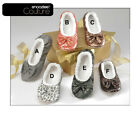 New Snoozies Couture Slippers Women Fuzzy House Shoes No Skid Machine Washable