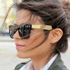 Popular Celebrity Ladies Fashion Sunglasses Gold Black Brown Vintage