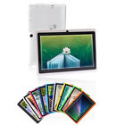 "16GB IRULU 7""  Multi Color Tablet PC Google Android 4.2 Dual Core Cam A23 1.5GHz"