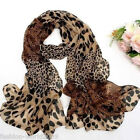Sexy Leopard Lady Women Soft Silk Chiffon Scarf Wrap Shawl Scarves Stole Warm