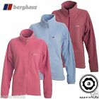 Berghaus Women's Thermal Pro Fleece Jacket Pink SoftBlue Bigger Sizes 18 20 22