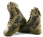 Military Army Camouflage Mens Desert Shoes Outdoor Climbing Casual Camo Boots