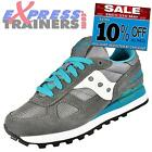 Saucony Womens Shadow Original Retro Running Shoes Trainers Grey * AUTHENTIC *