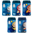 Gerber Rice Cereal Single Grain Oatmeal Banana Apple for Baby 8 oz, You Choose