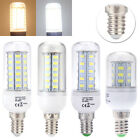E14 5W 8W 10W 12W SMD 5730 LED Corn Light Lamp Energy Saving Bulb 220-240V 360°