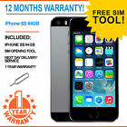 Apple iPhone 5s 64GB Factory Unlocked - Space Grey