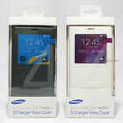 Samsung Galaxy Note 4 Wireless Charging S View Cover Charger Case Genuine