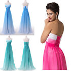 2014 Summer Chiffon Homecoming Formal Gown Ball Party Cocktail Evening Dresses