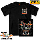"Official 2014 Sturgis Motorcycle Rally T-Shirt ""UPWING EAGLE"""