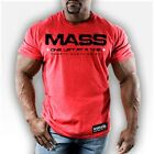NEW Men's Monsta Clothing MASS ONE LIFT AT A TIME Bodybuilding Lifting Gym Tee