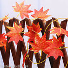 2.5m Artificial Ivy Vine Leaf Garland Plants Fake Foliage Maple Home Party Deco