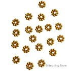 Various Vermeil 24ct G/P 925 Sterling Silver Flower Spacer Beads Bead Bali Style