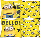 """Despicable Me Minions 14"""" Filled Cushion Official Pillow 35x35cm New Gift"""