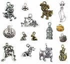 Dog Charms Silver Bracelet Jewelry Mix Pieces Cat Charm Buy 2 Sets Get 1 Free