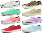New Vans Authentic Unisex Trainers / Plimsolls ALL SIZES AND COLOURS