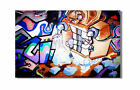 KUNST BILD pop art GRAFFITI LEINWAND BILDER GEMÄLDE new york london3902x