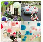 Hot 5PC Wedding Party Home Outdoor Decor Tissue Paper Pom-Poms Flower Plus Size