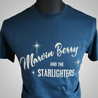 Marvin Berry Back to The Future Retro Movie T Shirt Doc Brown Marty McFly Prom