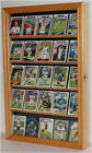 Football Baseball Basketball Hockey Card Display Case Wall Frame - CC01