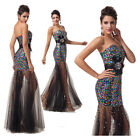 *Bling Sequins* Sexy Bodycon Bridesmaid Evening Party Prom Club Long Maxi Dress