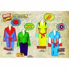 Marvel Avengers Superhero Bathrobe - Dressing Gown Fleece Bath Robe - Christmas