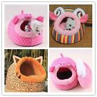 Soft Pig & Sheep Pet Dog Cat Bed House Kennel Doggy Warm Cushion Basket Cute -LJ